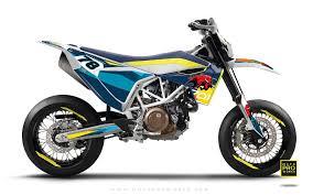 husqvarna 701 graphic kit toro blue motoproworks decals