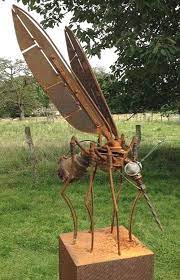 garden sculpture kunst aus metall