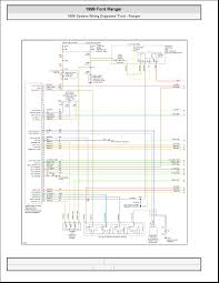 ford ranger system wiring diagrams schematic wiring 1999 ford ranger system wiring diagrams