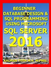 9781535008617 Beginner Database Design Sql Programming