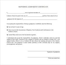 14 Baptism Certificate Templates Samples Examples Format