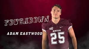 Adam Eastwood punches in his first... - Montana Griz Football