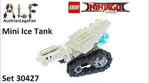 Lego Ninjago Movie 30427 Ice Tank - Lego Speed Build Review - YouTube