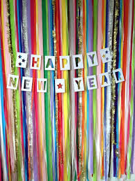 diy colorful backdrop for new year s eve
