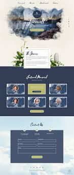 Memorial Website Design Entry 10 By Happyweekend For Online Memorial Website Design