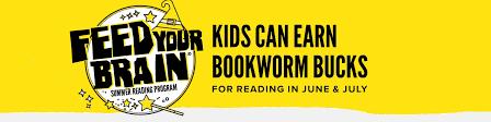feed your brain kids from pre through high can earn bookworm bucks