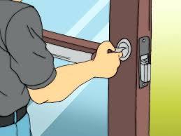 door lock and key cartoon. Unlock Door With Credit Card Little Hole On Side Of Handle How To Open Locked . Lock And Key Cartoon