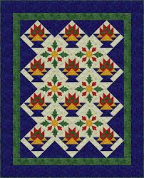 Sew a Basket Quilt that Combines Patchwork and Applique & Applique Quilt Patterns Adamdwight.com