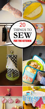 For The Kitchen 20 Pretty And Practical Things To Sew For The Kitchen