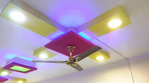 simple beautiful false ceiling design with lights