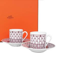 Wmcc the pulse @wmccradio 9 апр. Hermes 2 Coffee Cup And Saucer H Deco Red Gift Set Scopelliti 1887