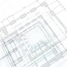 architecture blueprints 3d. Brilliant Architecture Architektur Blueprint 3d Render Auf Wei U2014 Foto Von 1xpert Inside Architecture Blueprints