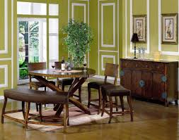 green dining room chairs. Dining Room, Green Room With Classic Crosslegged Wooden Round Table And Unique Curved Leather Chairs
