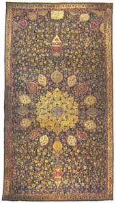 the famous ardabil carpet