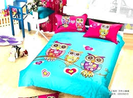 owl bedding sets nature comforter set twin 3 in renovation madison park pierce s hot pink nature hoot owl girls twin comforter set