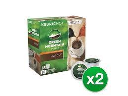 Carnation half and half liquid creamer singles, 180 count. Green Mountain Coffee Half Caff Hazelnut Flavored Keurig K Cup Pods Medium Roast 18 Count 2 Pack Newegg Com