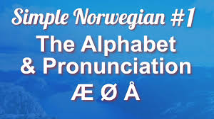 Listen to the audio pronunciation in english. Simple Norwegian 1 The Alphabet Pronunciation Youtube