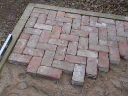 on the level diy brick patio brick