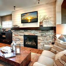 rock wall living room ideas fireplace rock wall brown schist rustic ledge stone fireplace wall decorating