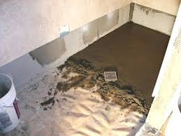 how to install a shower floor photo of installing tile shower creative tile and marble learning how to install a shower floor