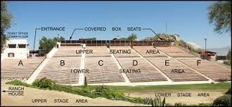 Seating Chart Ramona Bowl Amphitheatre