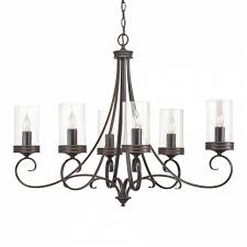 kichler diana 35 98 in 6 light olde bronze williamsburg clear in wonderful kichler 6