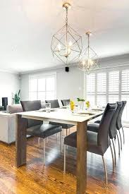 dining table lighting ideas. Extraordinary Dining Table Lighting Modern Contemporary Room Design With Silver Hanging Light Ideas
