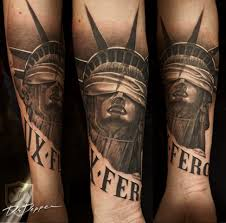 Statue Of Liberty Tattoos Ink And Secrets Tattoo Life