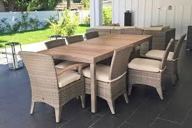 top gorgeous dola boston 6 person teak outdoor dining set euroluxpatio regarding outdoor dining tables for 8 remodel