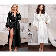 <b>Plus Size XXXL</b> Rayon Bathrobe Womens Long Robe Sexy <b>Classic</b> ...