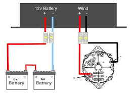 integrated dc wind turbine controller 12v or 24v economic circuit diagram of a dc wind generator controller