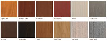 woodrite cedar garage door stain options