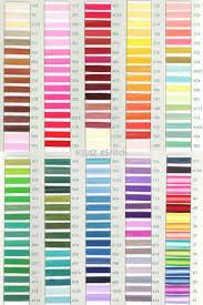 Katz Xstitch Trebla Colour Card