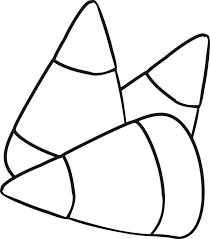 Candy Corn Coloring Pages Homelandsecuritynews
