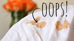 how to remove foundation stains from clothing i alyaesch you