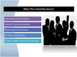Hotel Bussiness Plan Business Plan Hotel