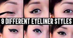 9 diffe eyeliner styles that will give you diffe makeup