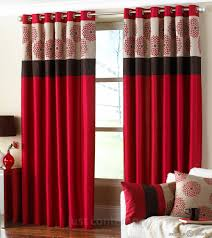 Red Bedroom Curtains Clarimont Red Brown Designer Lined Curtains Ux Ui Designer