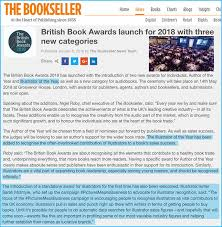 Bookseller Charts The Bookseller Announces A New Illustrator Of The Year Award