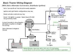 to 30 wiring yesterday s tractors unless specially modified modern alternators must be connected negative ground it probably ran all those years the alternator connected negative