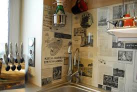 Image Of: Patchwork Wall Decor Ideas Kitchen Decorating