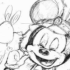 ミッキーのイラスト らくがきポイポイポイピク