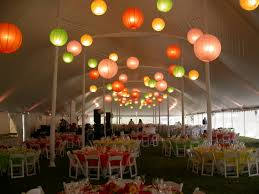 tent lighting ideas. Festive Colored Paper Lanterns And Linens Tent Lighting Ideas T