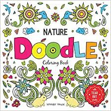 While as parents we may find flicking through a colouring book provides a dose of nostalgia. Nature Doodle Coloring Book Tear Out Sheets Coloring Book For Children Wonder House Books 9789388810562 Amazon Com Books