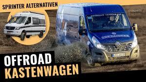 Offroad Campingbus Alternativen Zum Sprinter 4x4 Kastenwagen