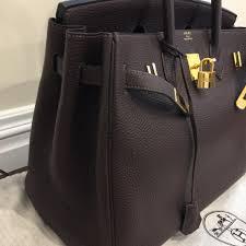 hermes birkin 35. hermès birkin 35 30 kelly togo satchel in chocolate brown hermes
