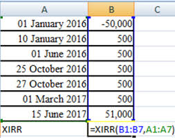 Xirr How To Calculate Your Returns