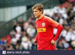 Copenhagen, Denmark. 26th July, 2020. FC Nordsjaelland's Mikkel Damsgaard  (27) seen during the 3F Superliga match