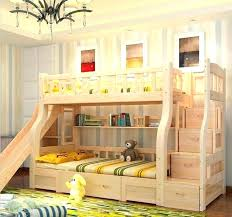 bunk bed with slide. Delighful With Wood Loft Bed With Slide Beds Bunk Slides Full Size Of  Bedroom   Intended Bunk Bed With Slide