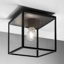 Ceiling Light Box Design Astro 1354001 Box Ceiling Light Textured Black